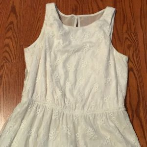 Maurices ivory white dress